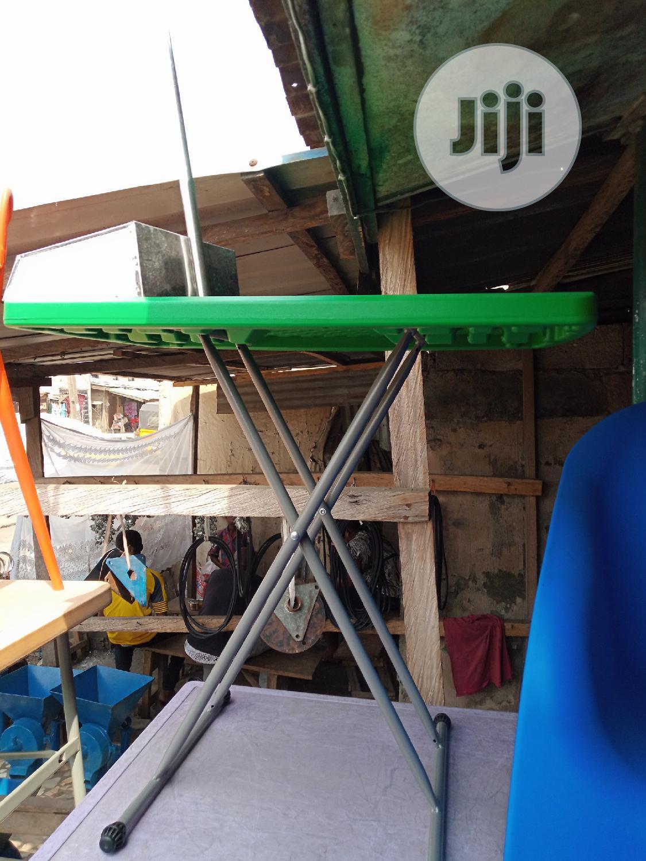 Metal Leg Ironing Table