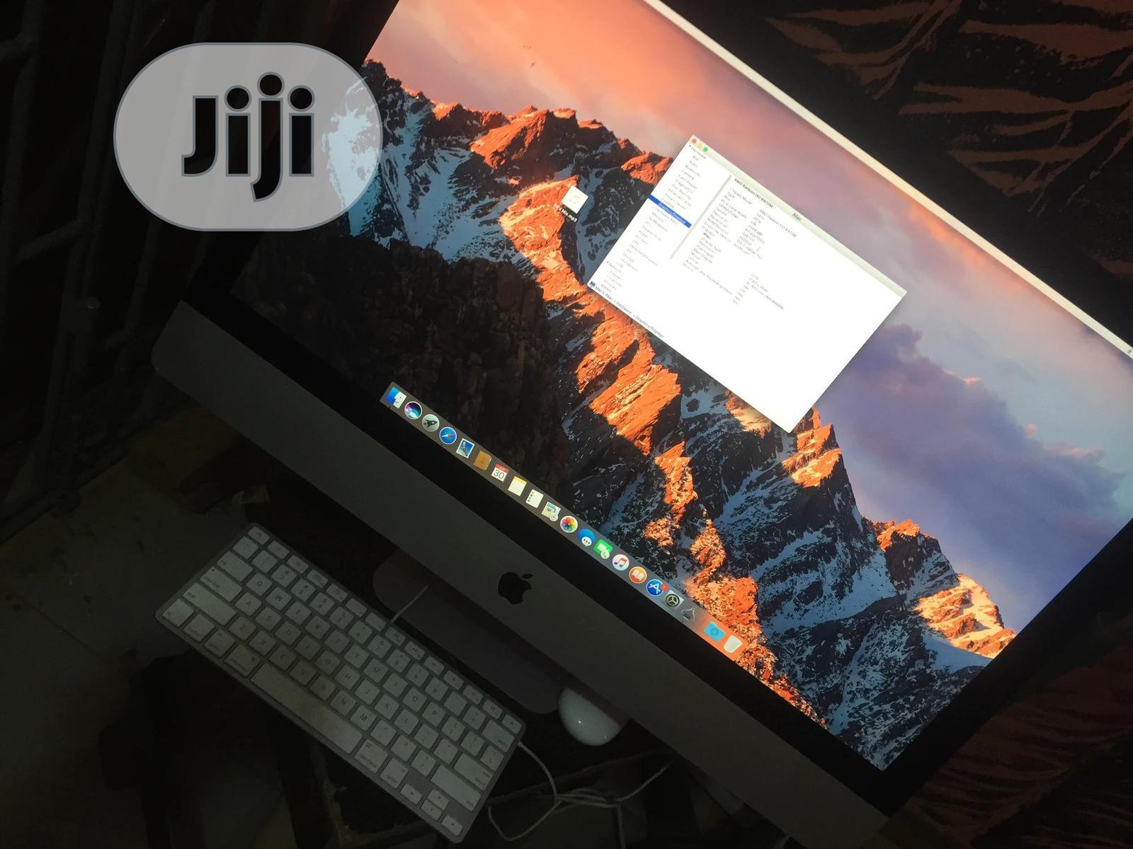 Desktop Computer Apple iMac 8GB Intel Core I7 HDD 1T | Laptops & Computers for sale in Ikeja, Lagos State, Nigeria