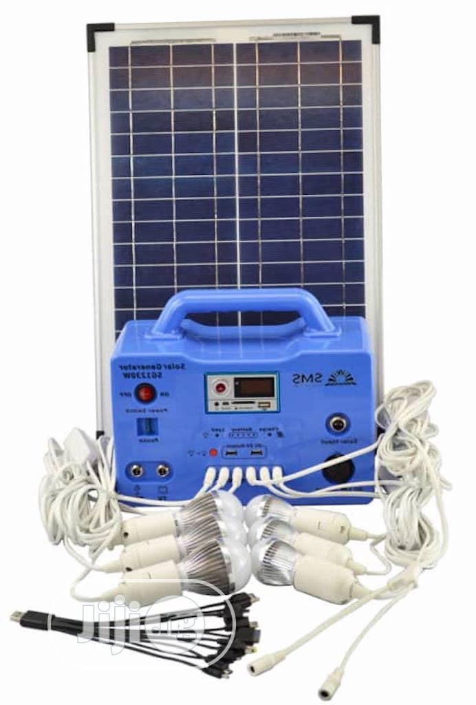 Archive: Solar Generator