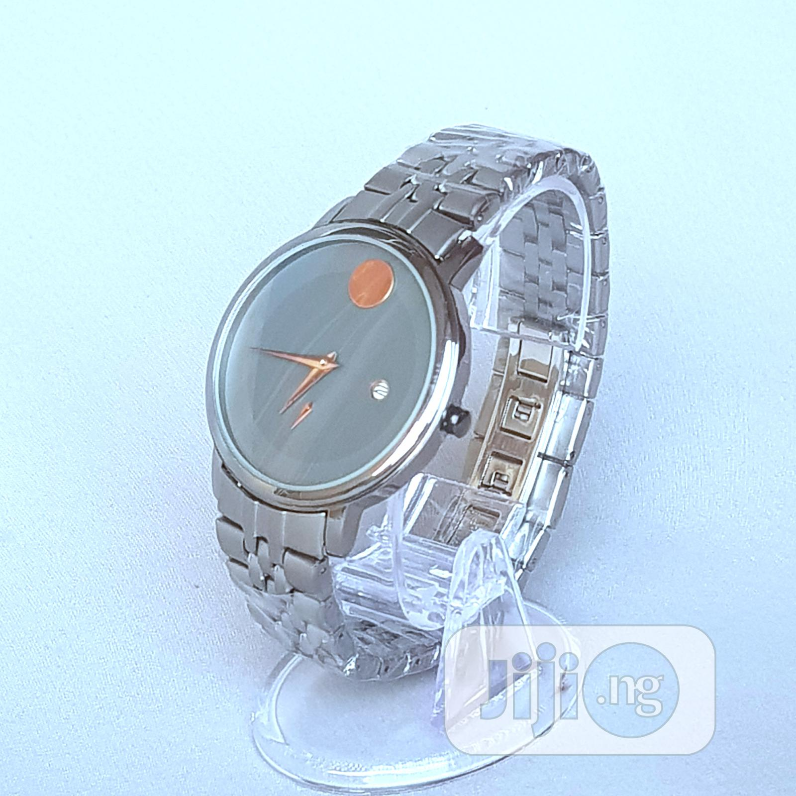 Archive: Movado Classic Steel Watch