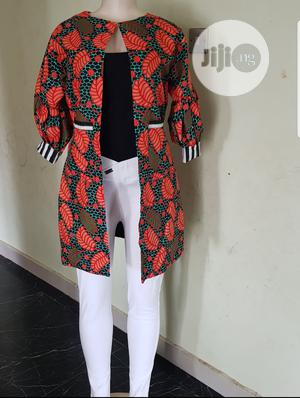 Ankara Kimono And Fringe Skirt(Comes In Different Prints) | Clothing for sale in Lagos State, Amuwo-Odofin