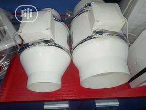 """4""""(100mm) Inline Heat Exhaust Extractor Fan 
