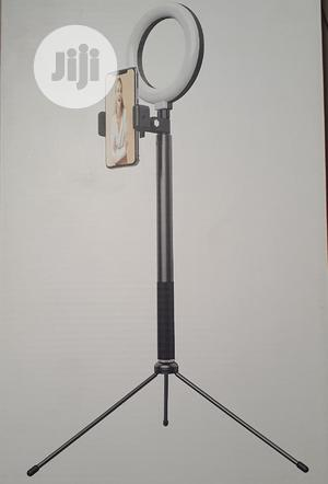 WO NEW 2 In 1 Selfie Ring Light With Tripod Stand & Remote | Accessories & Supplies for Electronics for sale in Lagos State, Ikeja