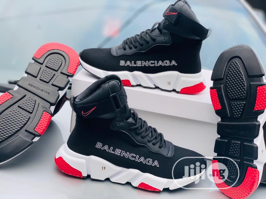 Nike X Balenciaga Hightop Sneakers in