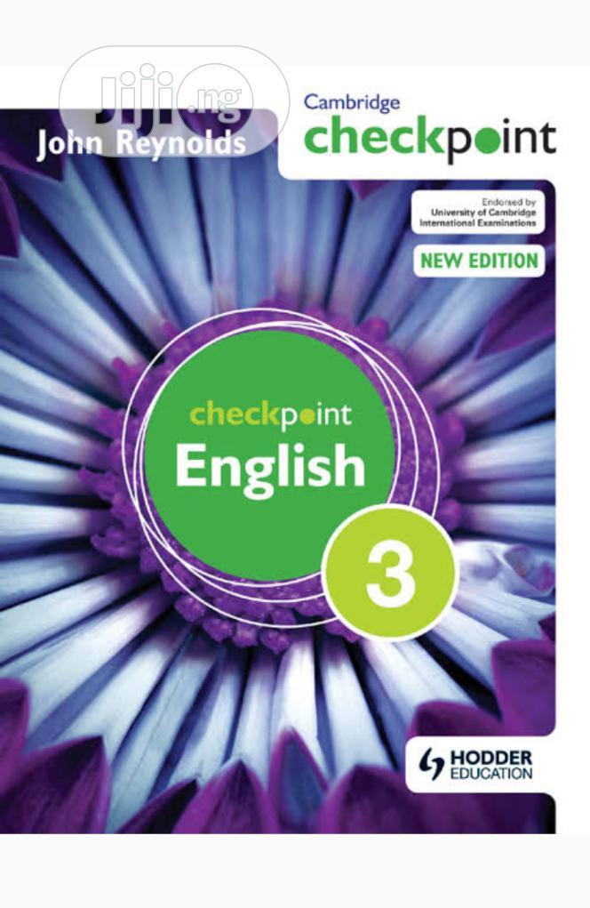 Cambridge Checkpoint English Textbook 3