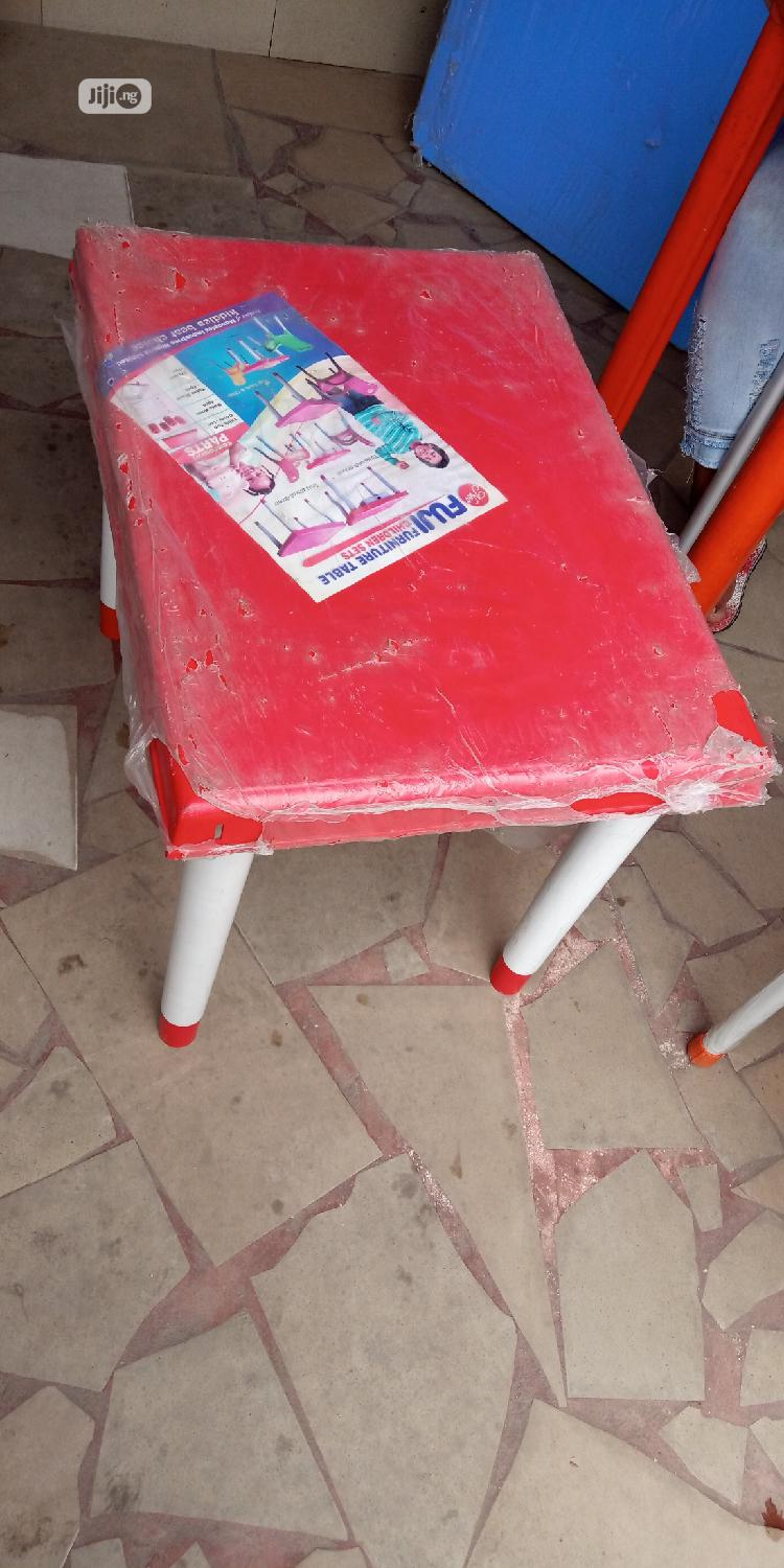 Metal Legs Plastic Table