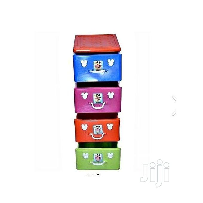 Kid's Childrens Baby 4 Steps Layer Plastic Storage Cabinet | Children's Furniture for sale in Lagos Island (Eko), Lagos State, Nigeria