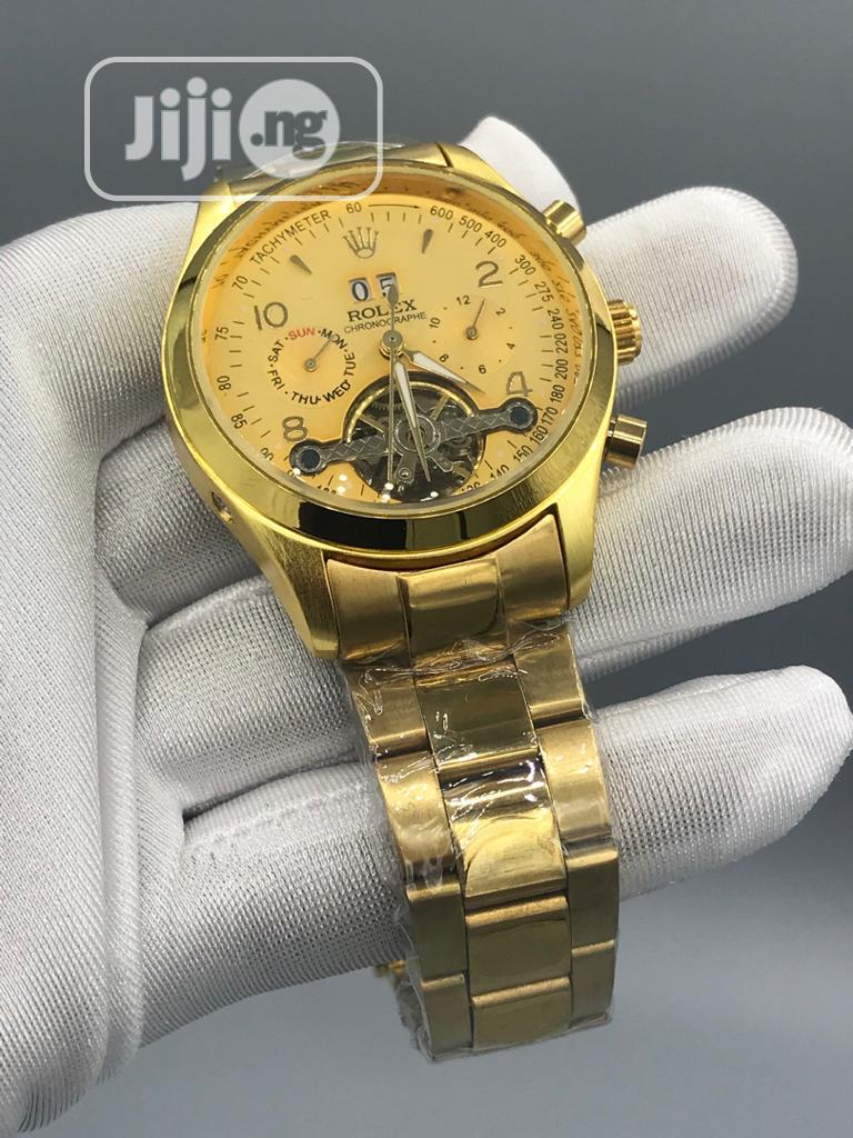 Archive: Gold Rolex Mechanical Watch