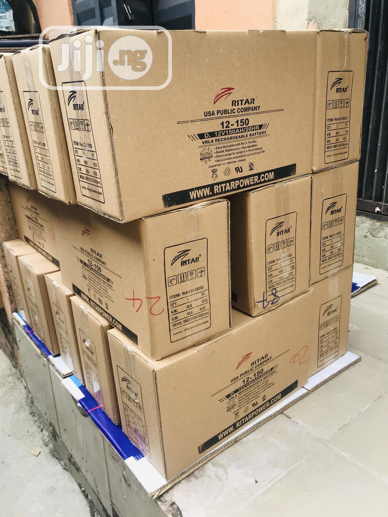 150AH 12volts Ritar Battery