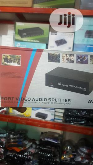 4 Port Av Splitter. | Accessories & Supplies for Electronics for sale in Lagos State, Ikeja
