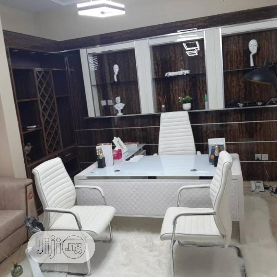 Archive: White Office Table And Chairs