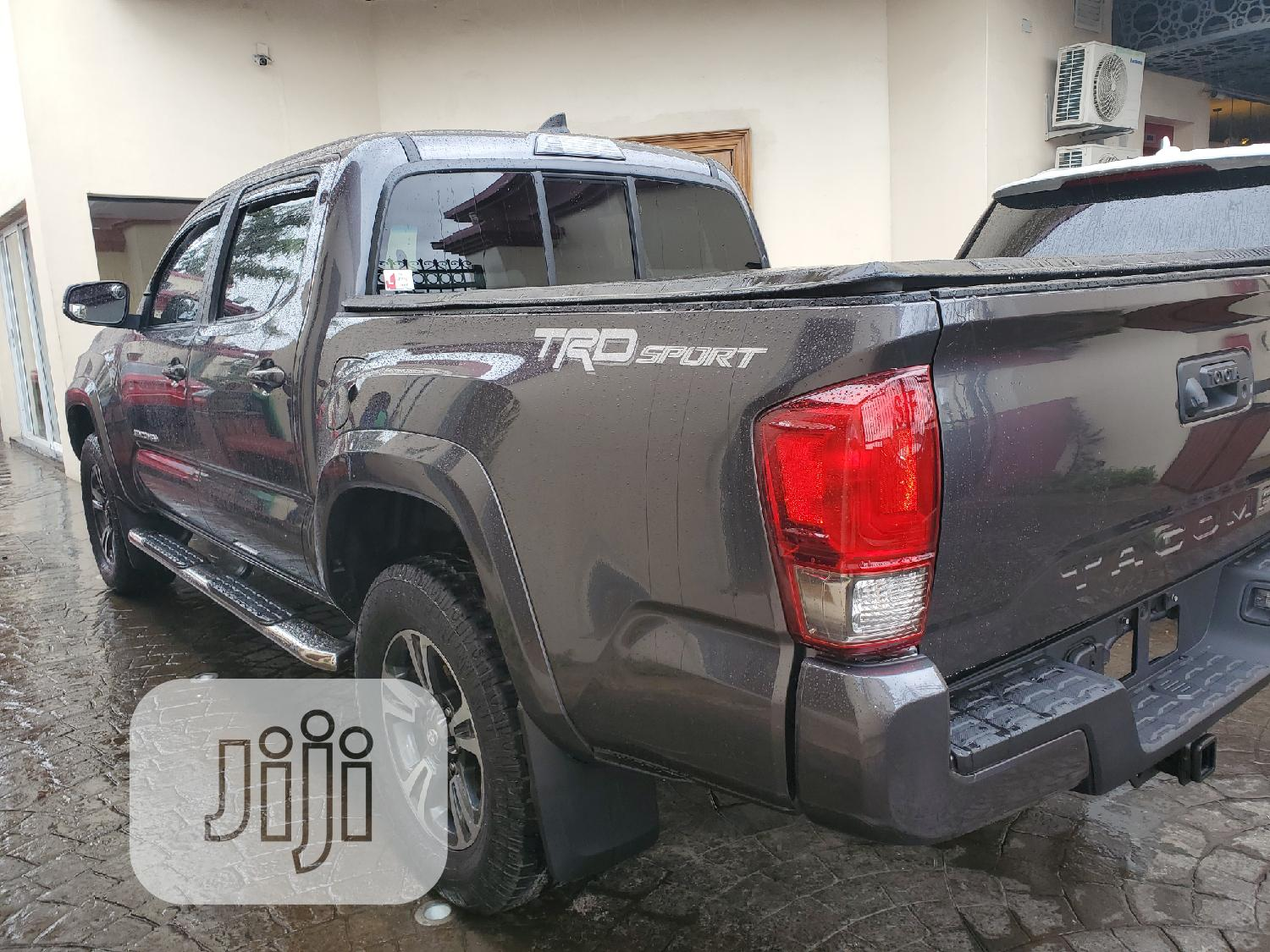 Toyota Tacoma 2016 4dr Double Cab Gray   Cars for sale in Surulere, Lagos State, Nigeria