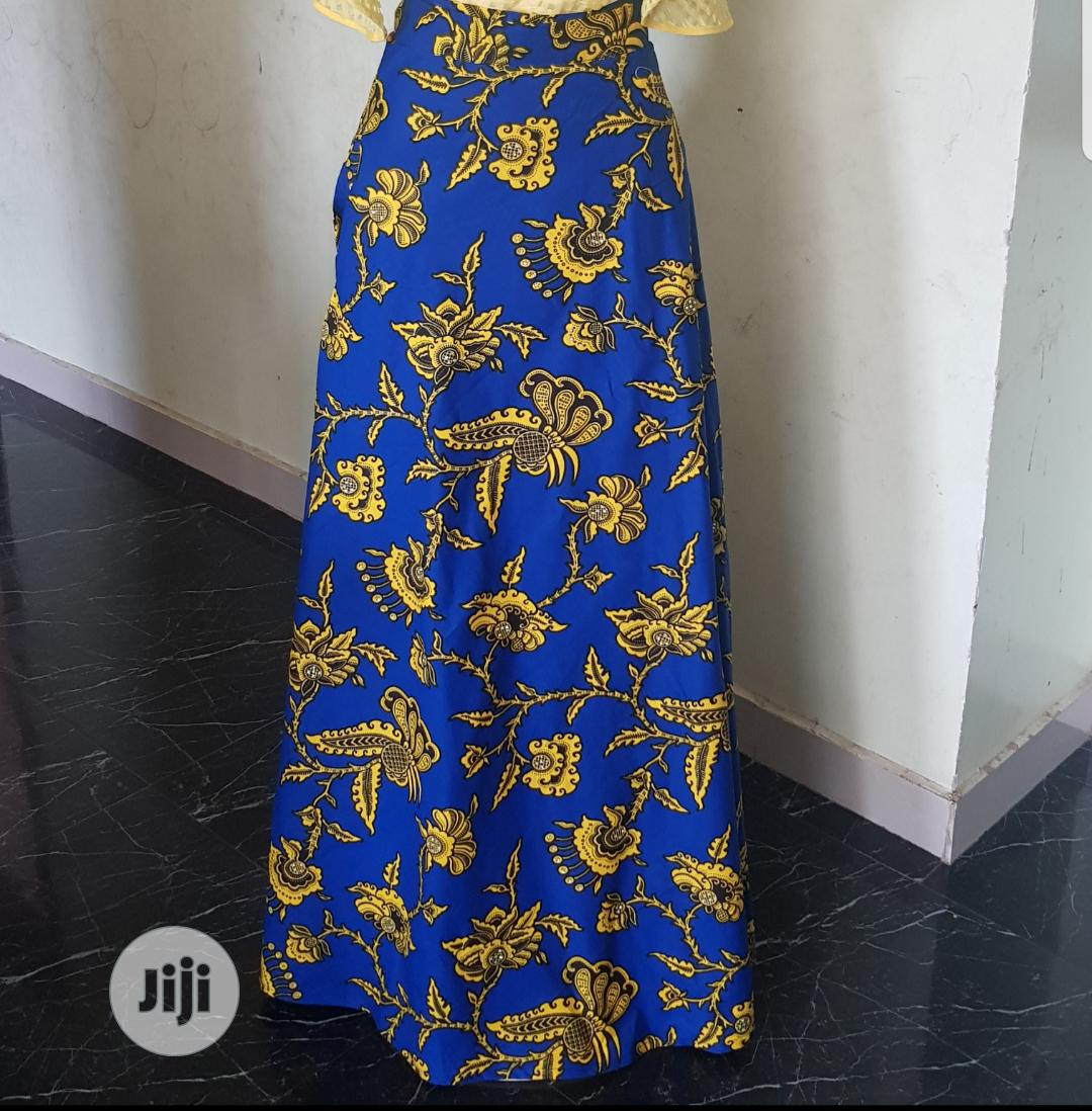 Ankara Wrap Skirts (Comes In Different Prints)
