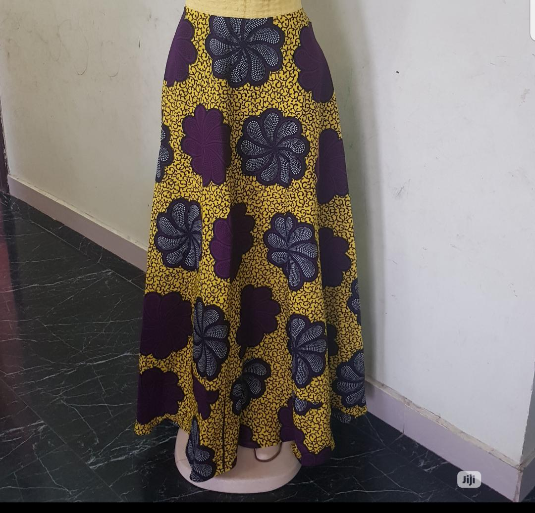 Ankara Wrap Skirts (Comes In Different Prints) | Clothing for sale in Amuwo-Odofin, Lagos State, Nigeria