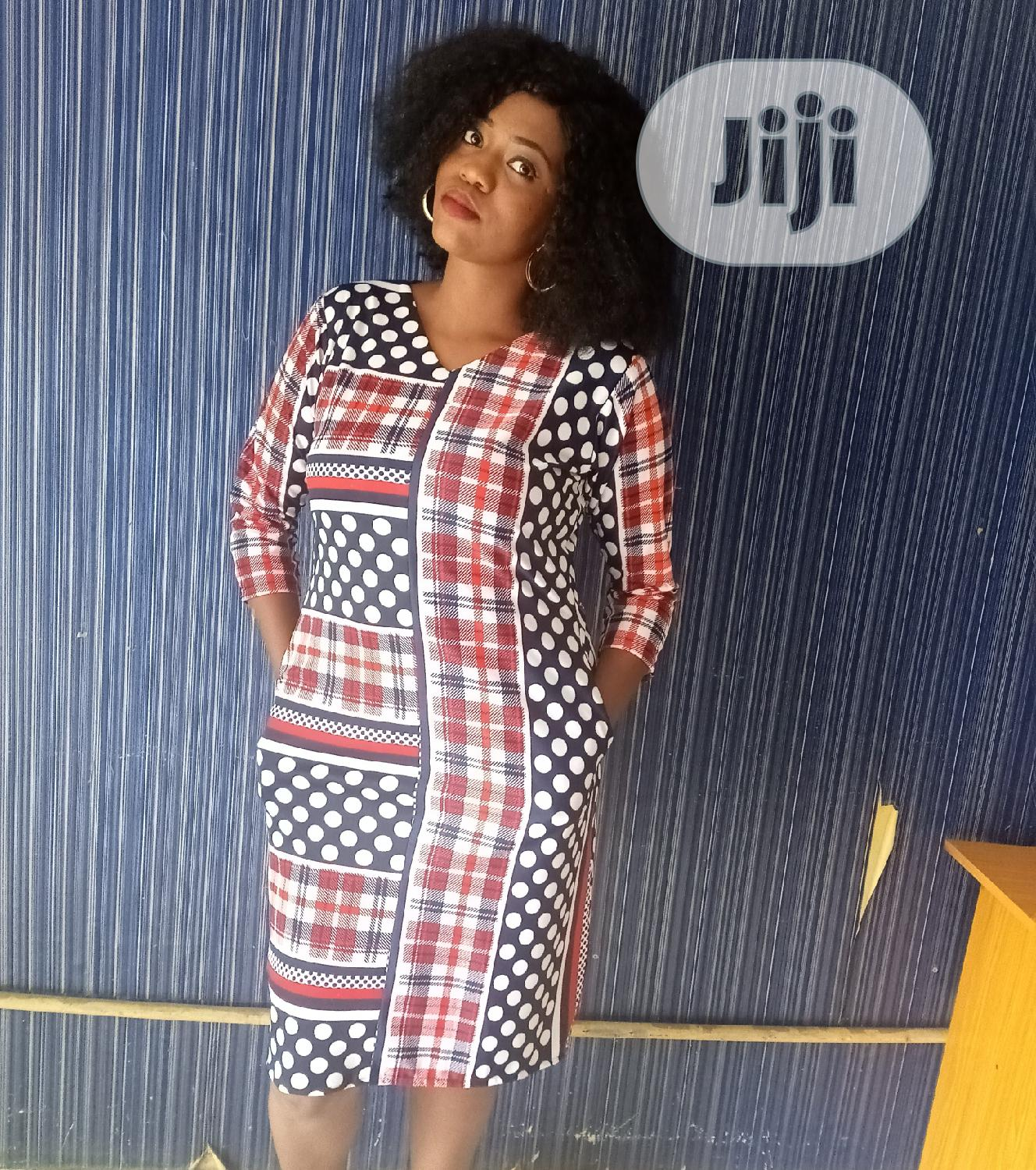 Short Print Dress | Clothing for sale in Amuwo-Odofin, Lagos State, Nigeria