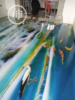 3D Epoxy Floor Install | Cleaning Services for sale in Lagos State, Lekki