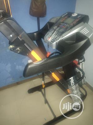 2.5hp Body Fit Treadmill With Massager And Dumbbell And Mp3 | Sports Equipment for sale in Lagos State, Surulere