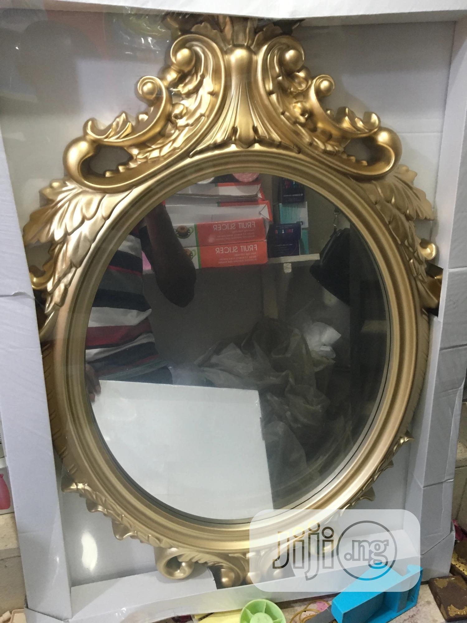 Gold Design Wall Mirrors