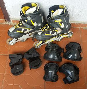 Roller Blades With Kit   Sports Equipment for sale in Rivers State, Port-Harcourt