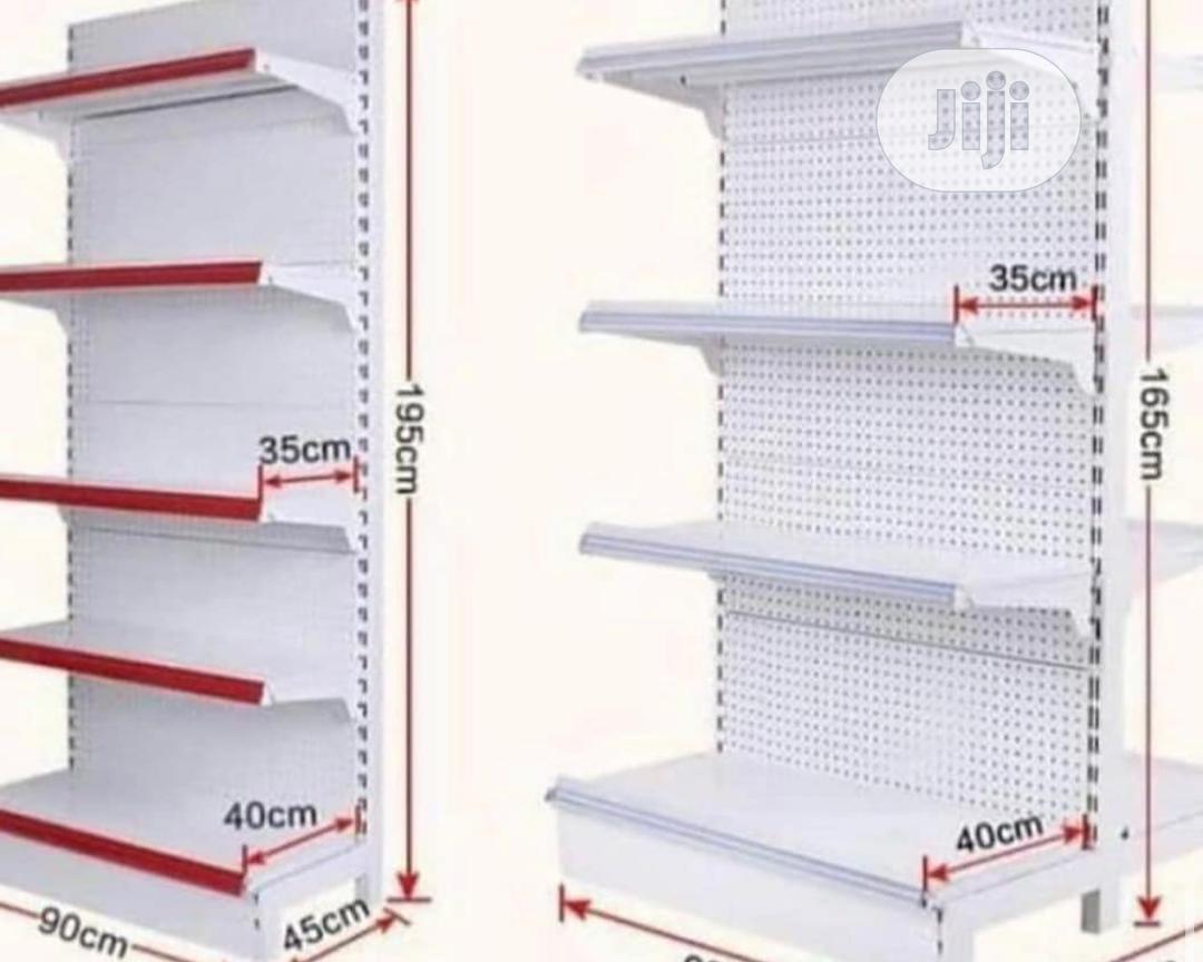 Super Market Red Shelf
