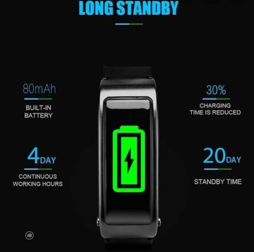 Y3 Plus- Heart Rate Smart Bracelet | Smart Watches & Trackers for sale in Amuwo-Odofin, Lagos State, Nigeria