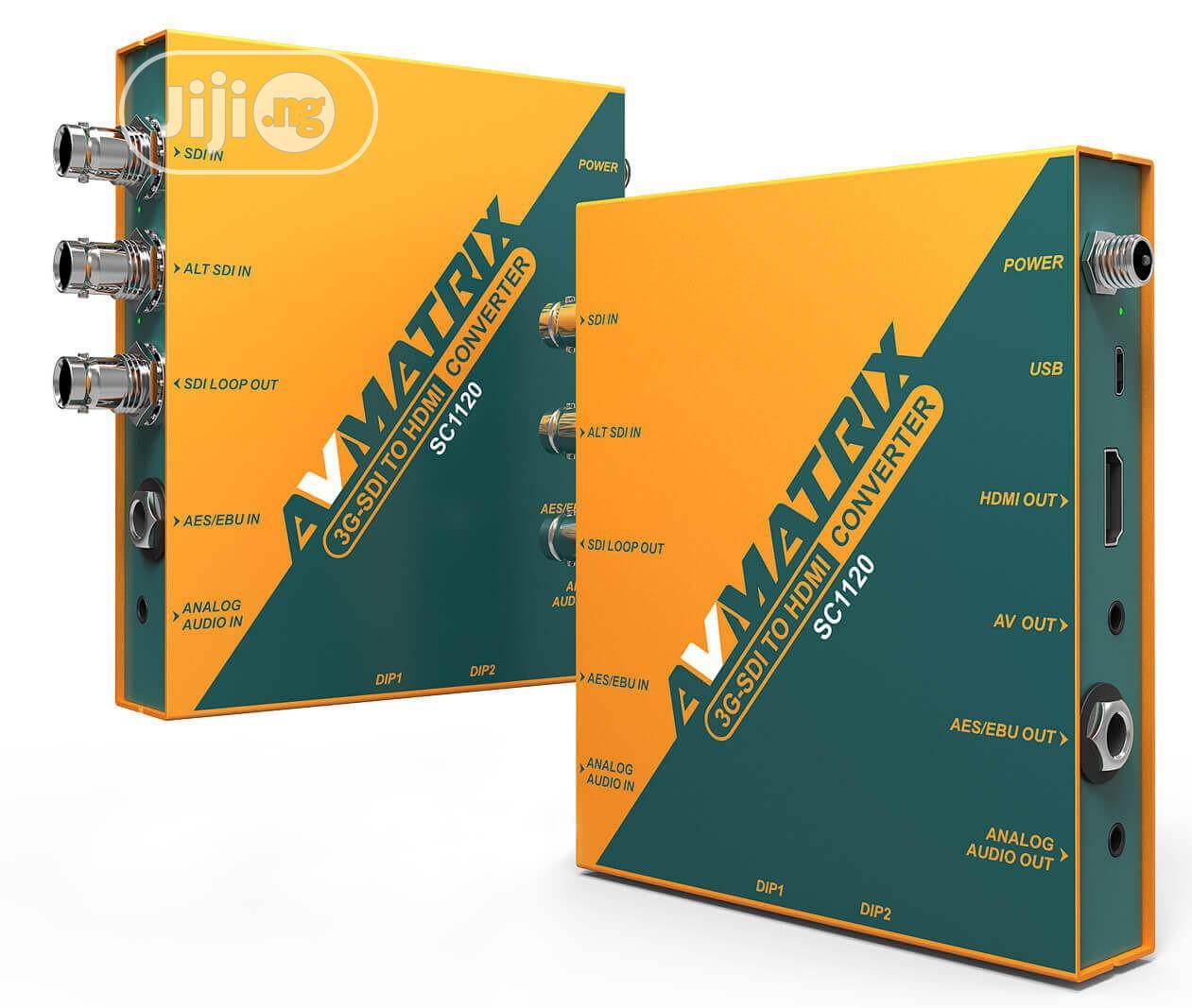 Archive: 3G-SDI To HDMI & AV Scaling Converter