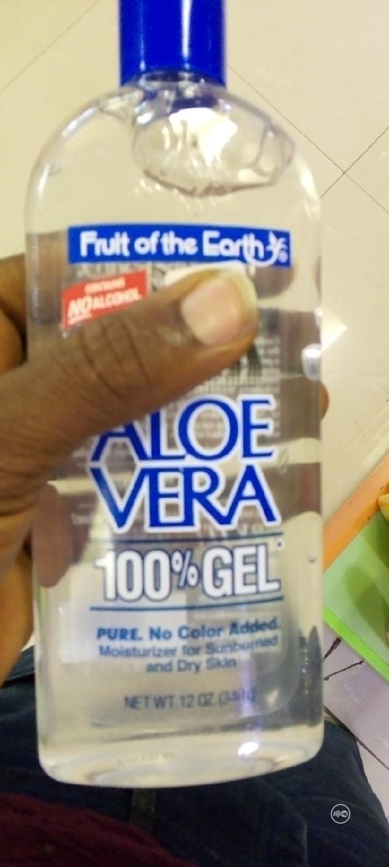 Archive: Fruit Of The Earth Aloe Vera Gel