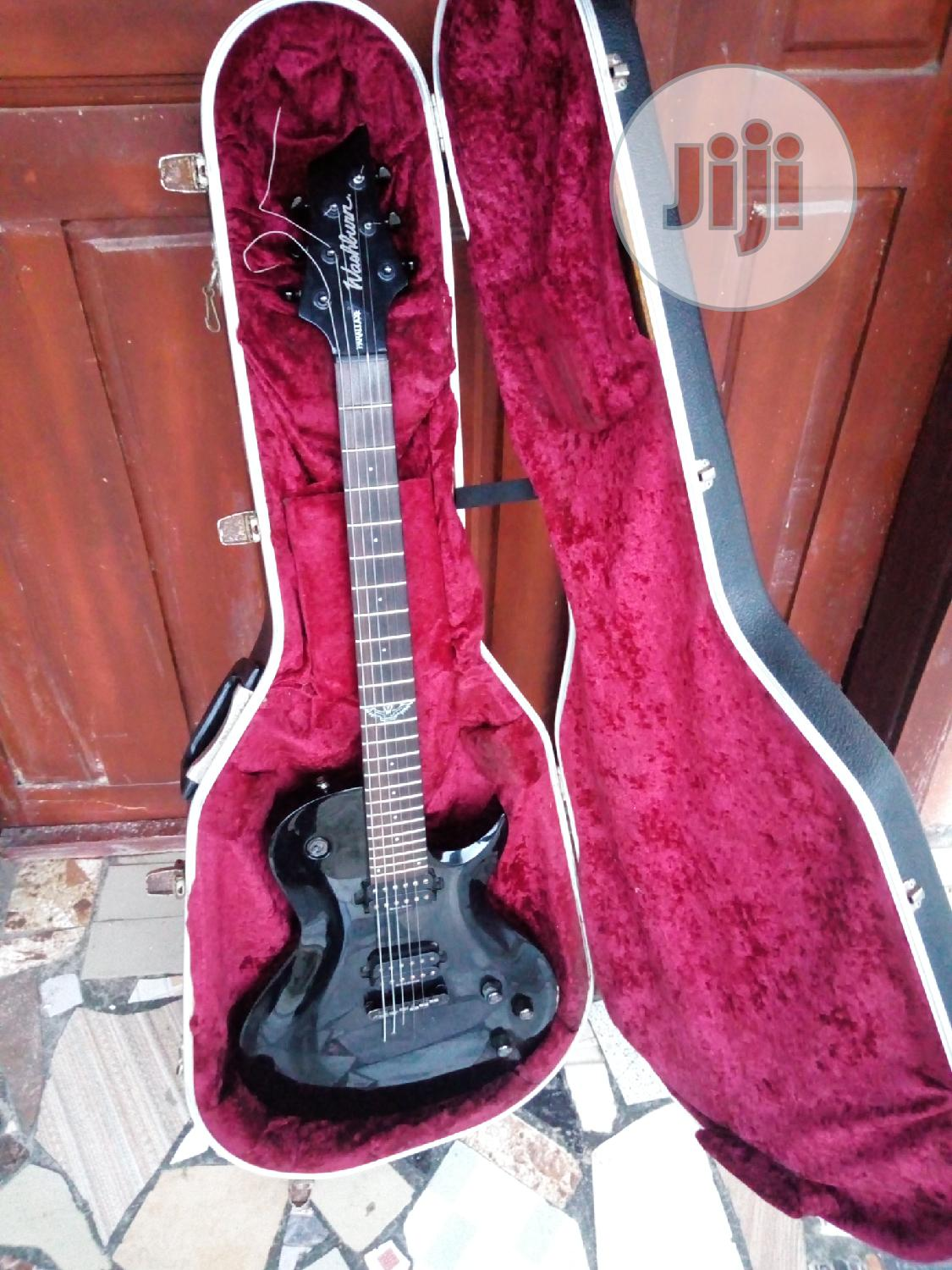 Washburn Electric Guitar Lxb100b With Hard Case | Musical Instruments & Gear for sale in Ojo, Lagos State, Nigeria