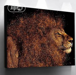 Lion Canvas Frame | Home Accessories for sale in Lagos State, Agege