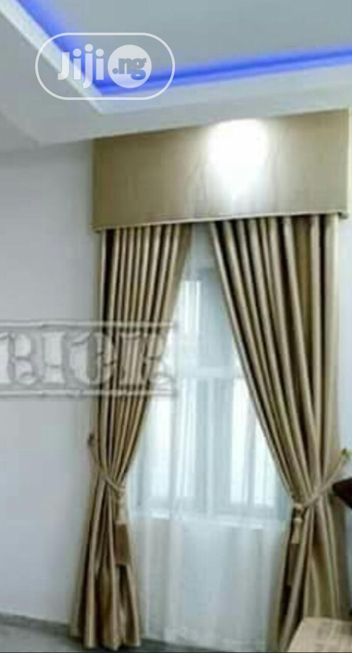 Quality Presidential Curtains for Your Homes and Office, | Home Accessories for sale in Surulere, Lagos State, Nigeria
