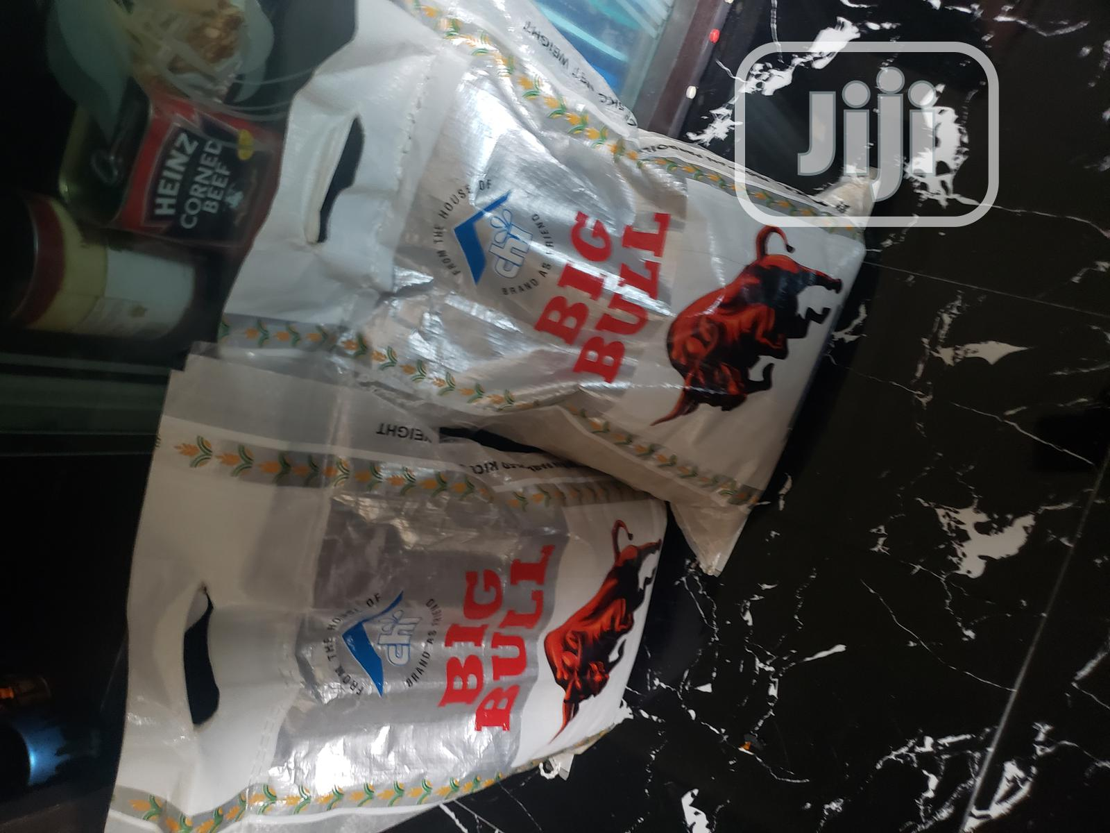10kg Bag Of Big Bull Rice | Meals & Drinks for sale in Isolo, Lagos State, Nigeria