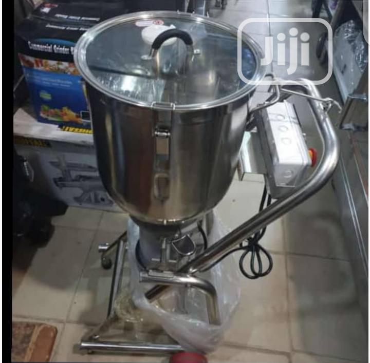 Stainless Steel Commercial Blender
