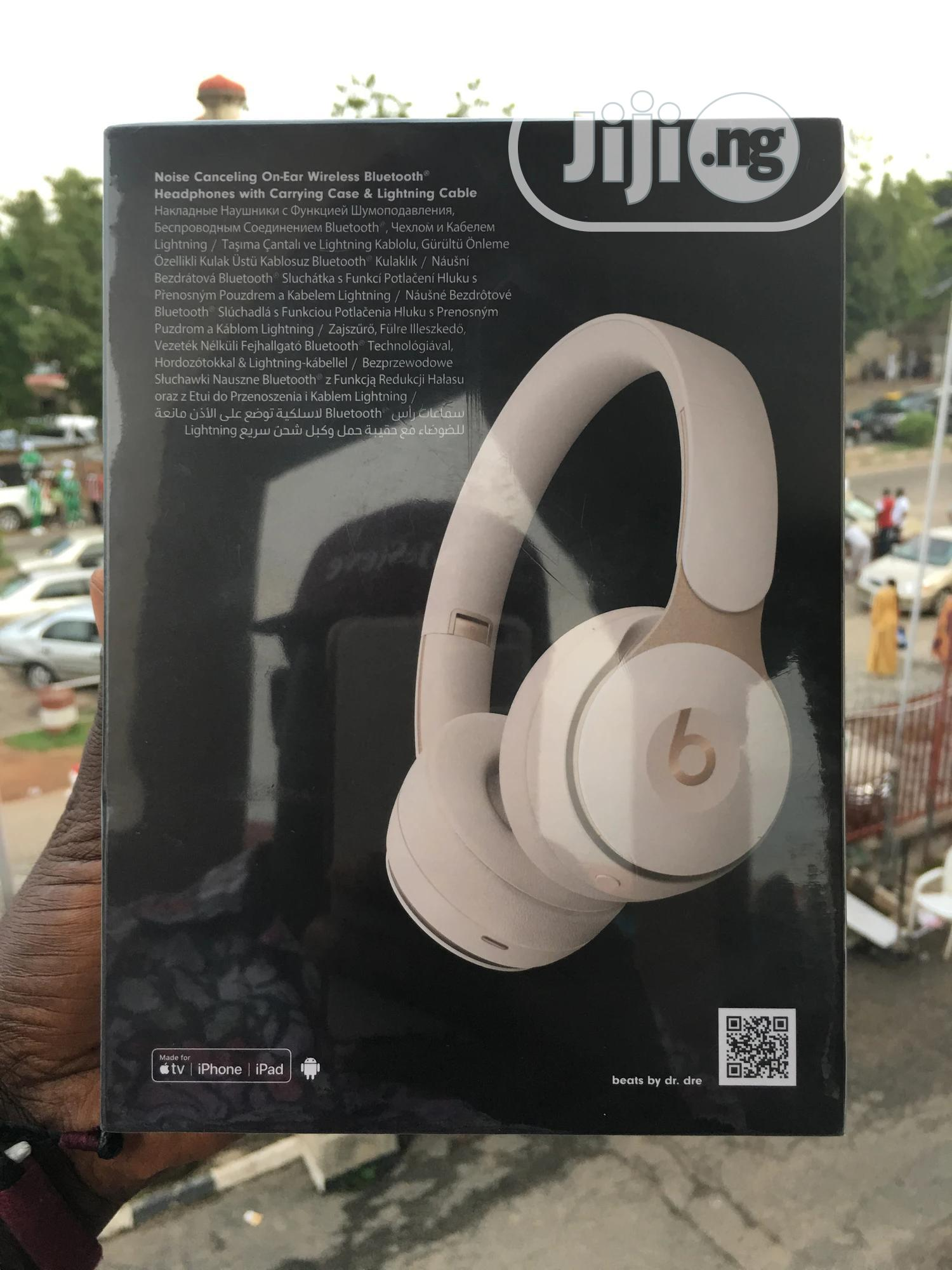 Beats By Dre Beats Solo Pro 100% Original   Headphones for sale in Wuse 2, Abuja (FCT) State, Nigeria