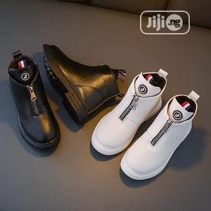 Kiddies Black Boots 👢 | Children's Shoes for sale in Lagos State, Ojo