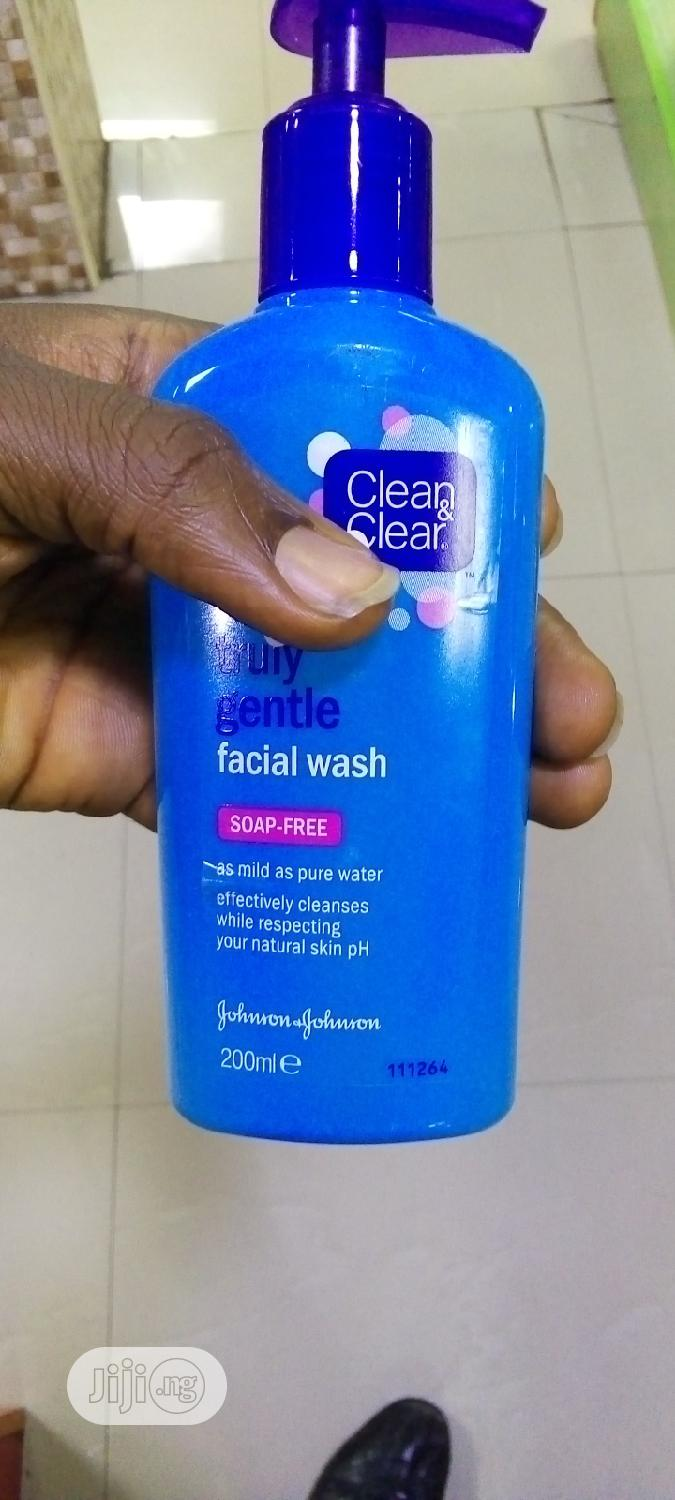 Archive: Clean And Clear Truly Gentle Facial Wash