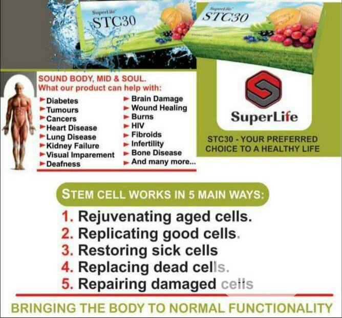 Superlife Stc30 Wonder Working Product | Vitamins & Supplements for sale in Ikorodu, Lagos State, Nigeria