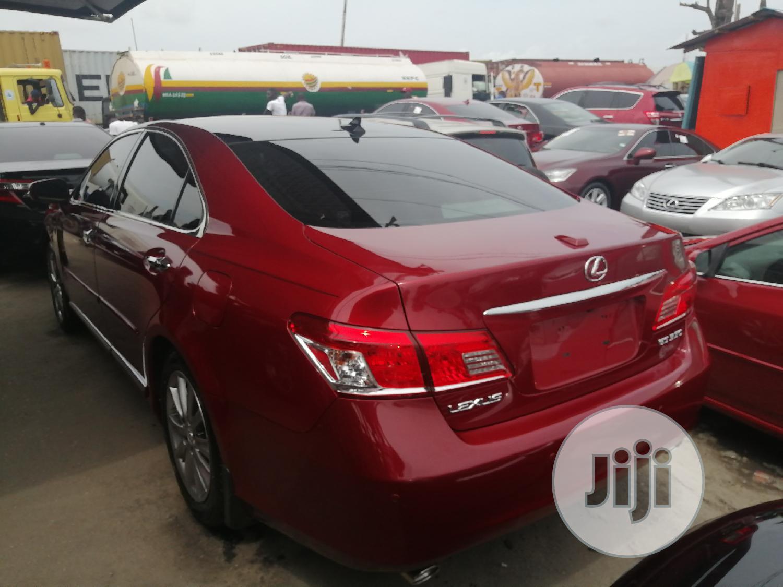 Lexus ES 2012 350 Purple | Cars for sale in Apapa, Lagos State, Nigeria