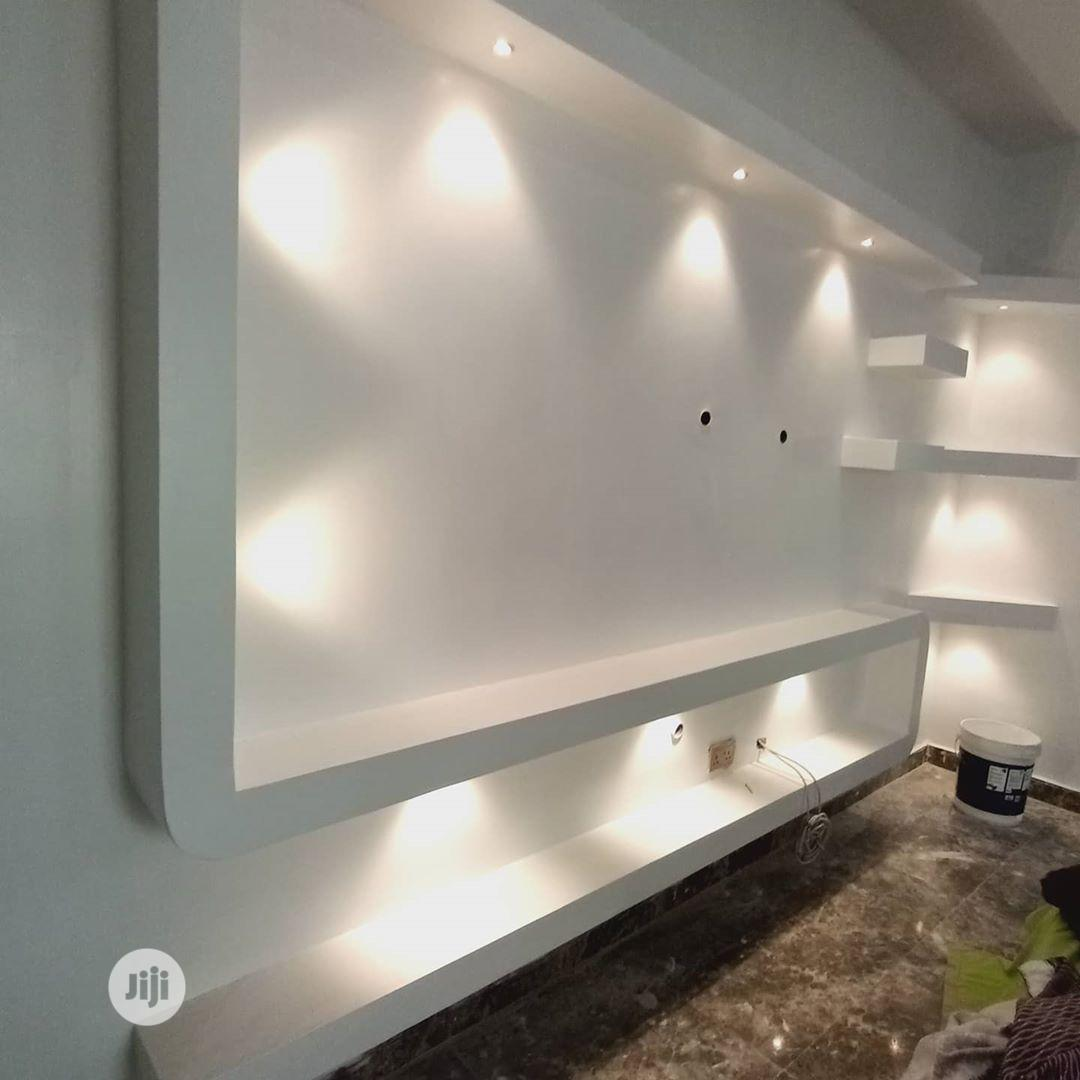 Archive: Pop Ceiling, Wall Screeding, TV Stand, And Wall Skating, Etc