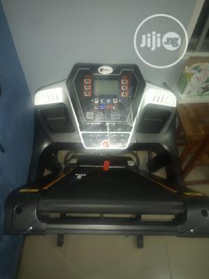 Quality Body Fit Treadmill With Massager And Mp3   Sports Equipment for sale in Lagos State, Ojo