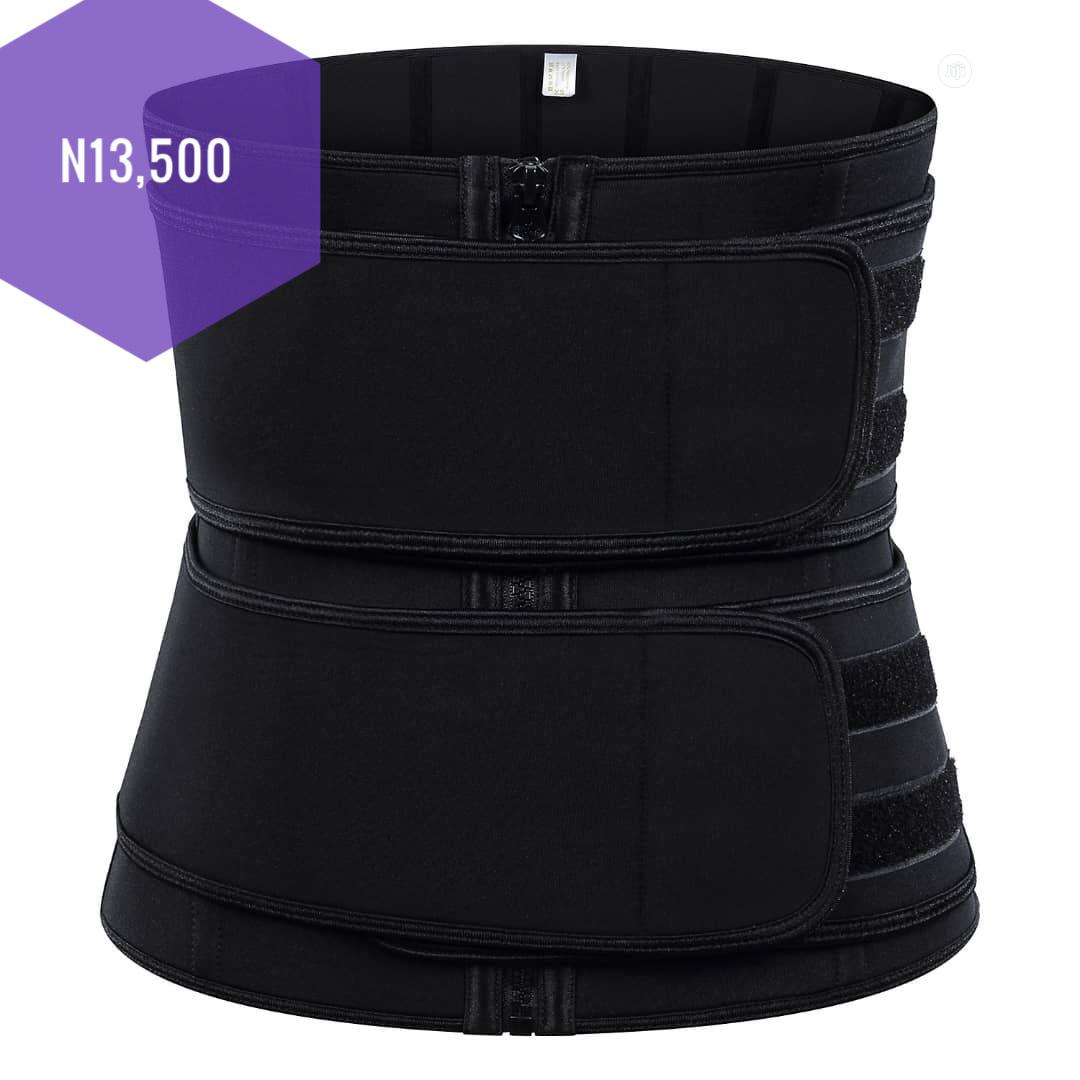 Waist Trainer (3hooks And Zipper Rubber Latex) | Clothing Accessories for sale in Ikeja, Lagos State, Nigeria