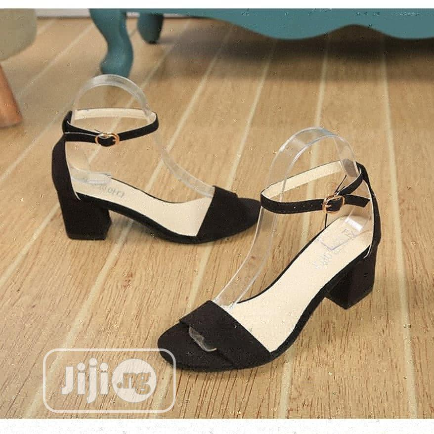 Archive: Low Heel Block Sandal