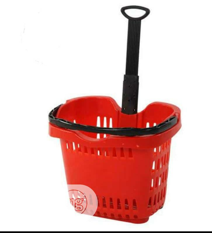 Original Supermarket Basket/Trolley In Stock | Store Equipment for sale in Ojo, Lagos State, Nigeria