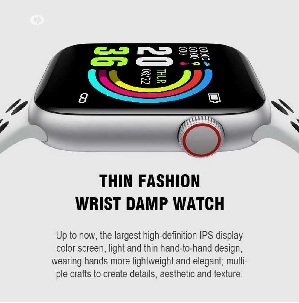 W5 Water Proof Smart Watch With Heart Rate Monitor   Smart Watches & Trackers for sale in Gbagada, Lagos State, Nigeria