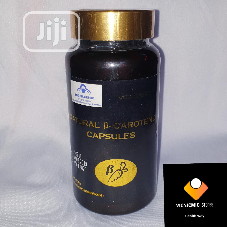 Natural Beta Carotene Capsules