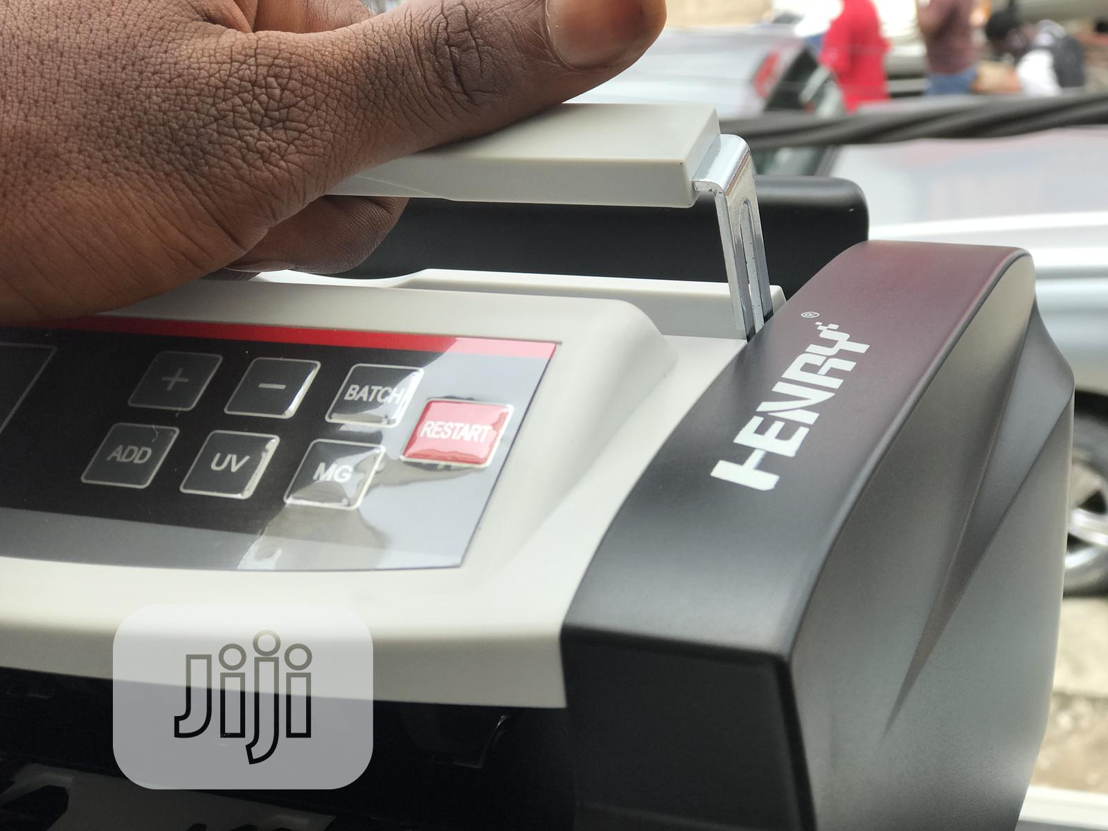 Henry Note Counting Machine + Fake Note Detector   Store Equipment for sale in Ikeja, Lagos State, Nigeria