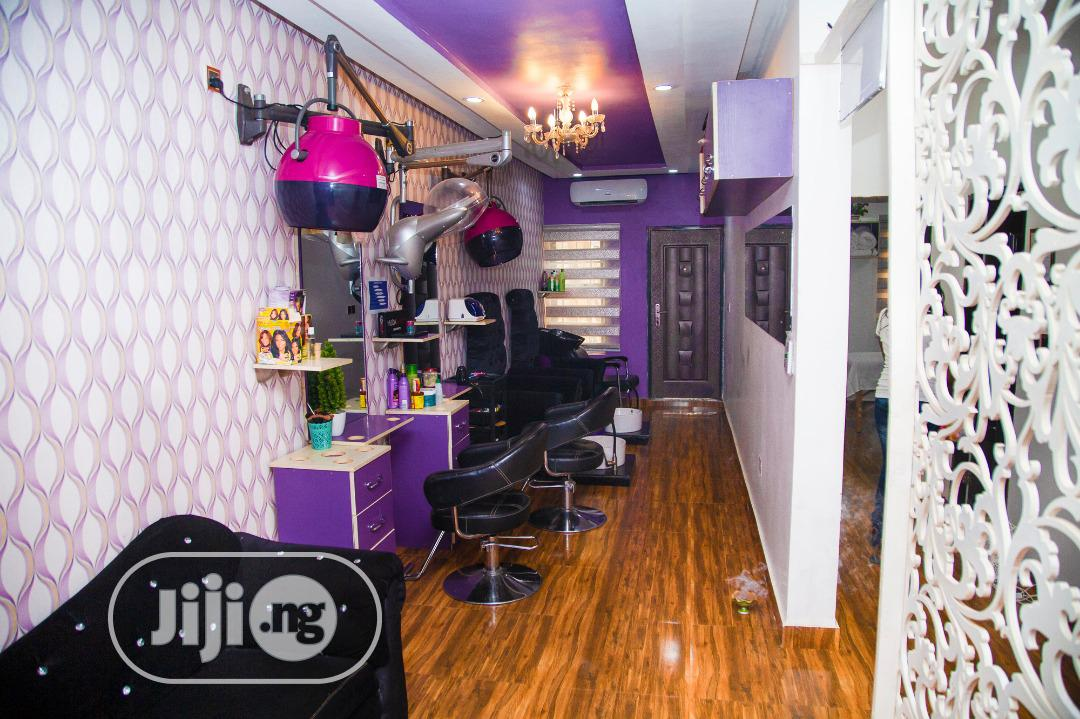 Female Hair, Nail Stylist And Makeup Space For Rent   Health & Beauty Jobs for sale in Garki 1, Abuja (FCT) State, Nigeria