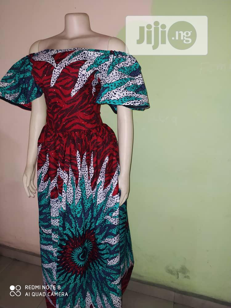 Ankara Gown For Sale