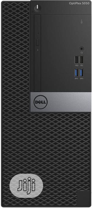 New Desktop Computer Dell OptiPlex 5050 8GB Intel Core i5 HDD 500GB | Laptops & Computers for sale in Lagos State, Ikeja