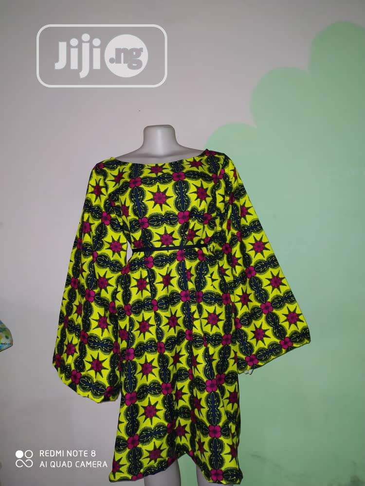 Ready Made Ankara Gown For Sale