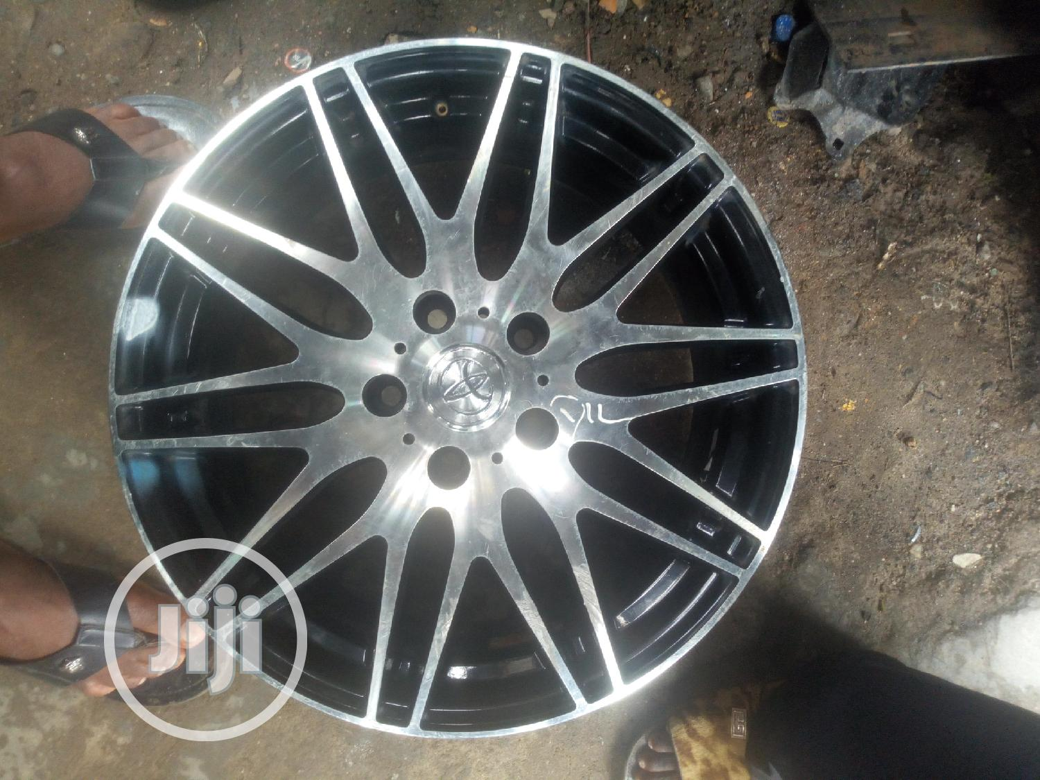 Archive: Alloy Rim Black And Stenless 17 Inches